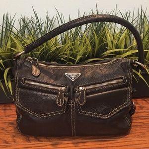 Prada Bags - Prada Semitracolla Bufalo Pocket Black dcb 1056 7855176ce2b1f